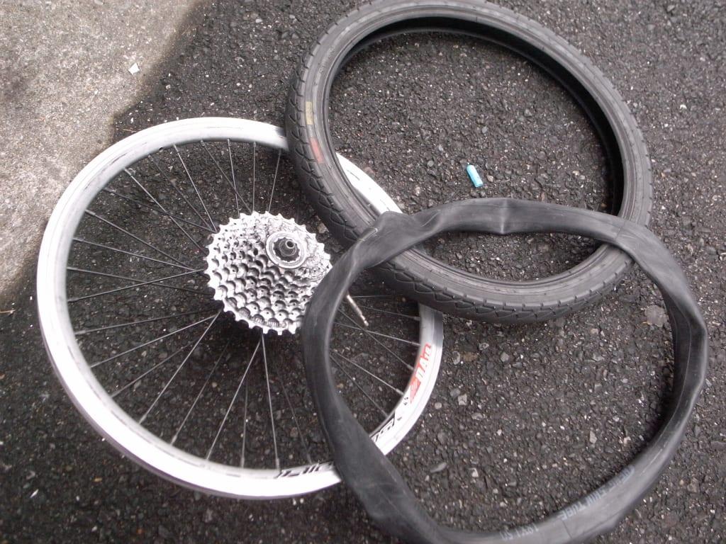 バイク 交換 ロード タイヤ