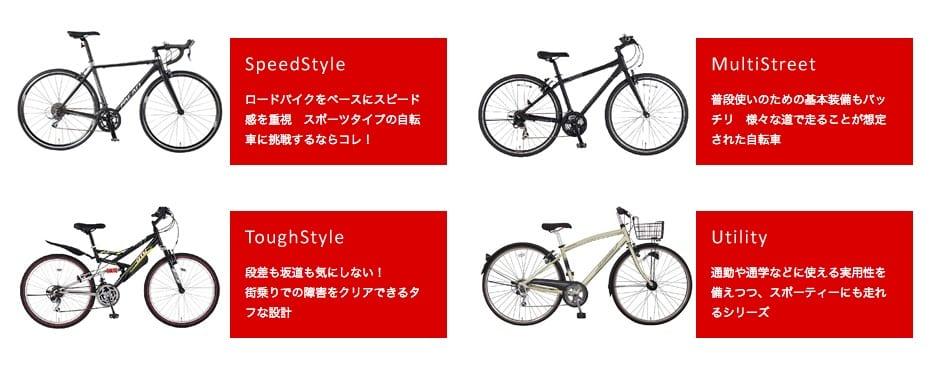 05_製品紹介   マルキン自転車