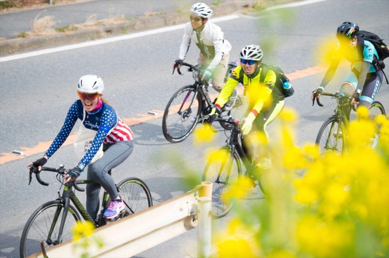 お天気もよくすがすがしいサイクリング日和