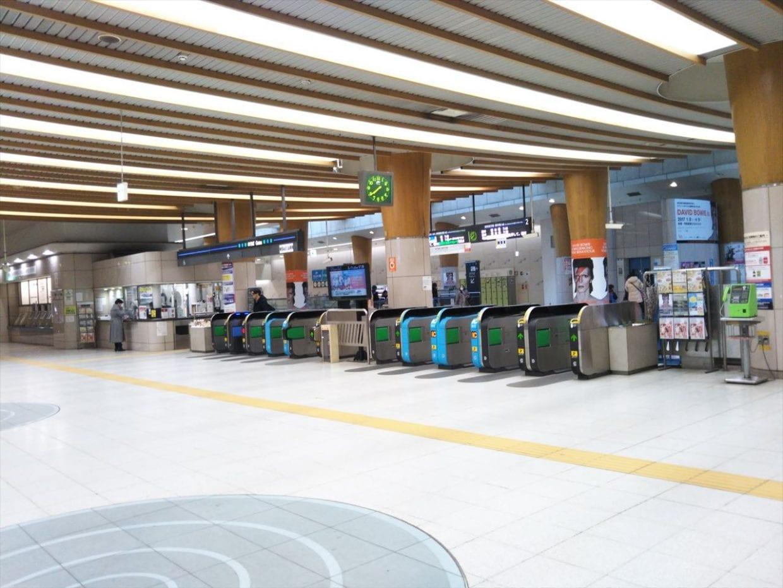 7:20に、りんかい線『東京テレポート駅』に到着!