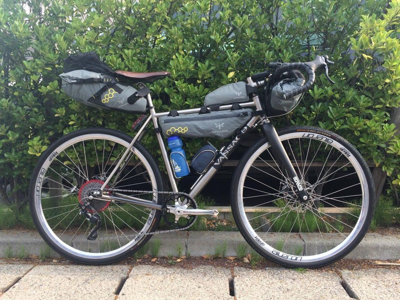 バイクパッキングの装備