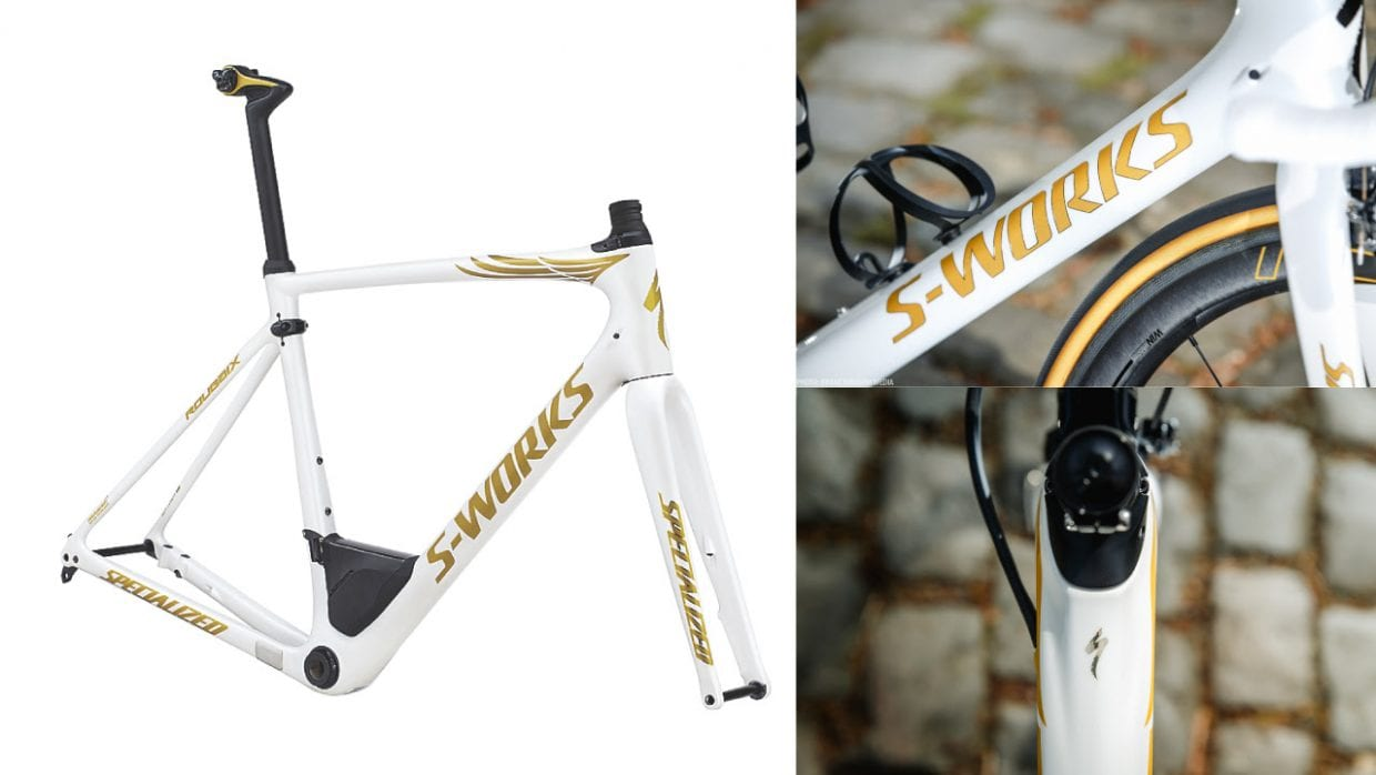 LIMITED S-WORKS ROUBAIX DISC フレームセット