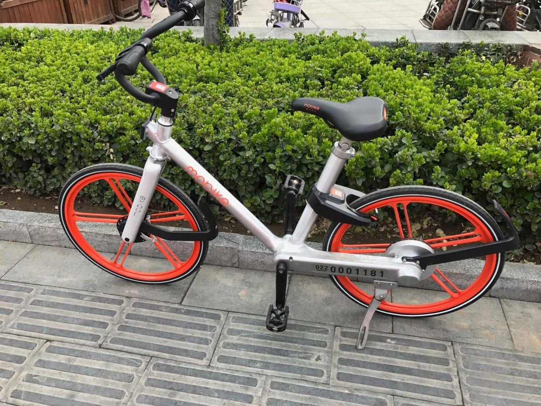 高級感漂うmobike(モバイク)