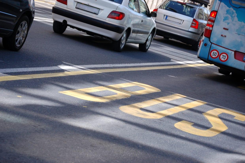バスが通るところは自転車も通るところでもある