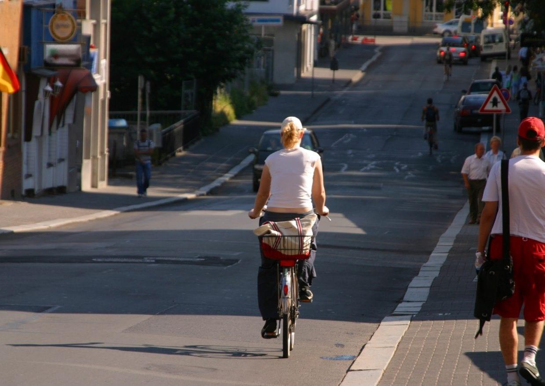 車大国のドイツでも自転車利用が進んでいる