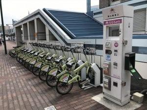 岡山駅東口ももちゃり サイクルポート