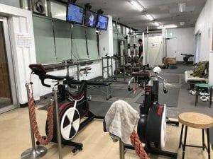 千葉サイクルクラブ隣接の競輪選手用のジム