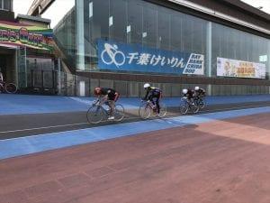 千葉サイクルクラブ終了後は選手たちが練習をスタート