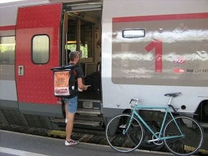 自転車と電車の未来に