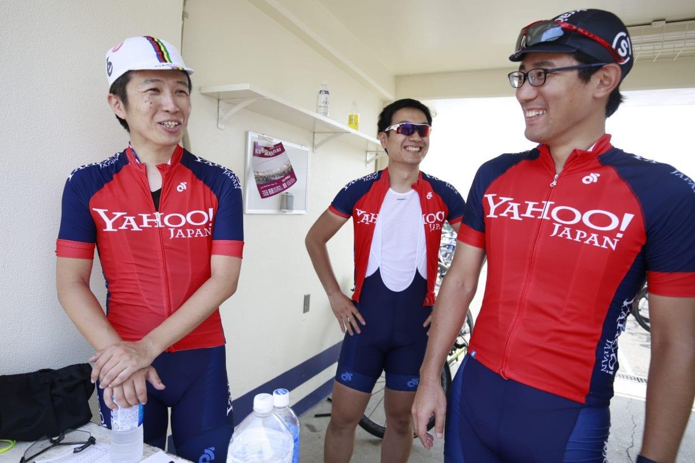 (C) Seiya Matsumura レース中はシリアスな表情が目立った強豪Yahoo!Japanチームもレース後はニッコニコ