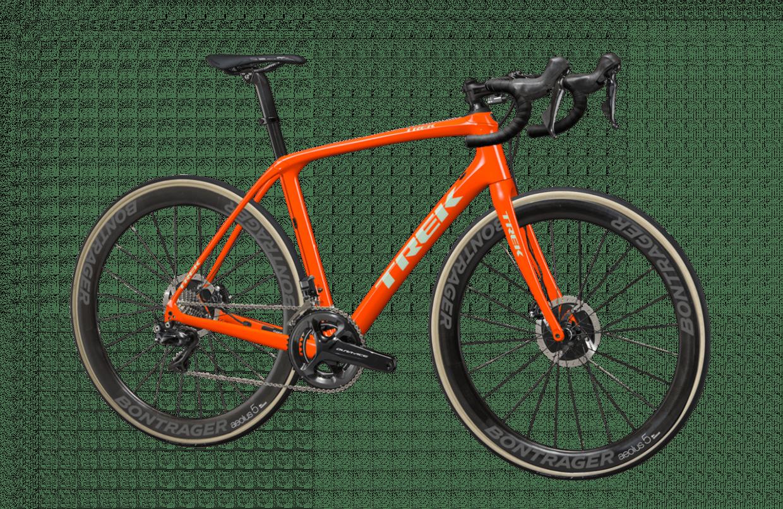 Domane :「Radioactive Orange(蛍光オレンジ)」をベースで、ロゴに「Sprintmint(スプリントミント)」を選択