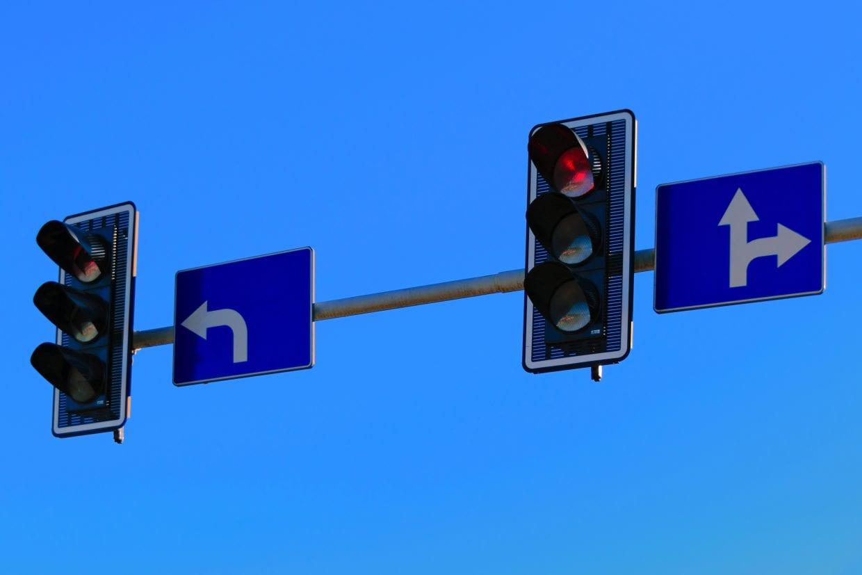 スピードが出過ぎて赤信号で止まれなかったら・・・