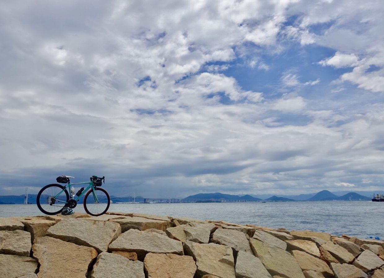 ロードバイク瀬戸内海