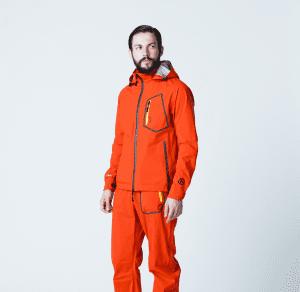 男性モデル(オレンジ)