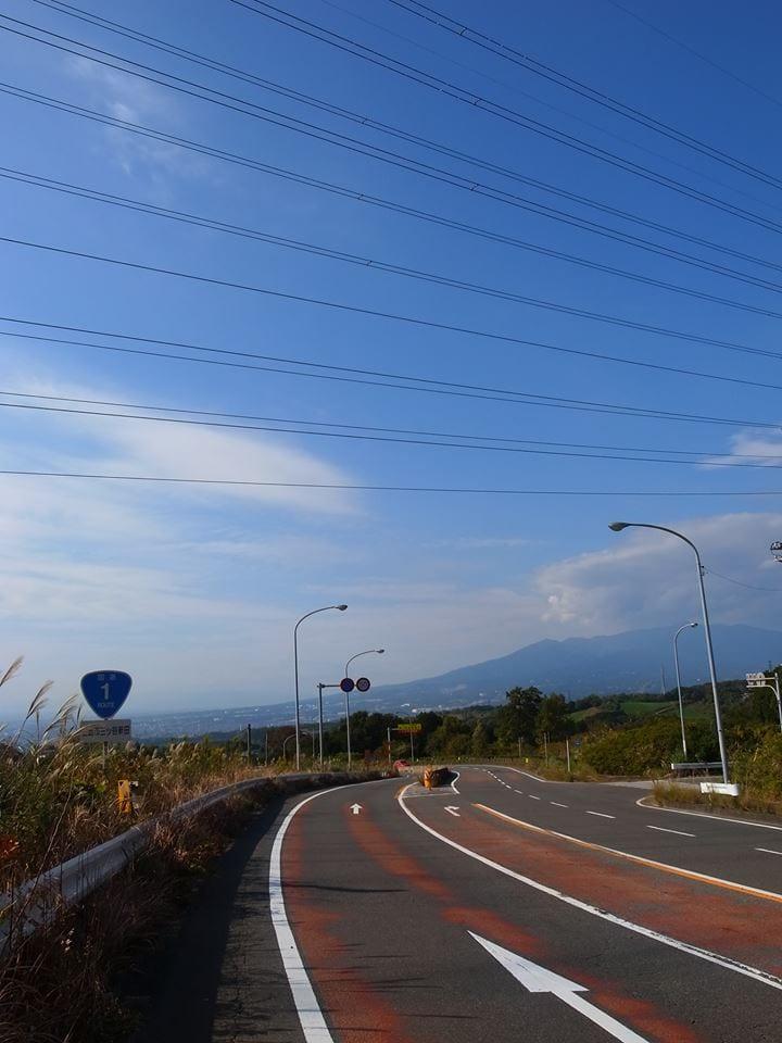 三島方面は素晴らしい景色が広がります。(C)高林陽一