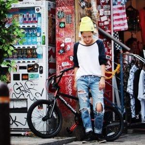 「DXR20-RD」はストリートファッションがお好きな方にお勧め。