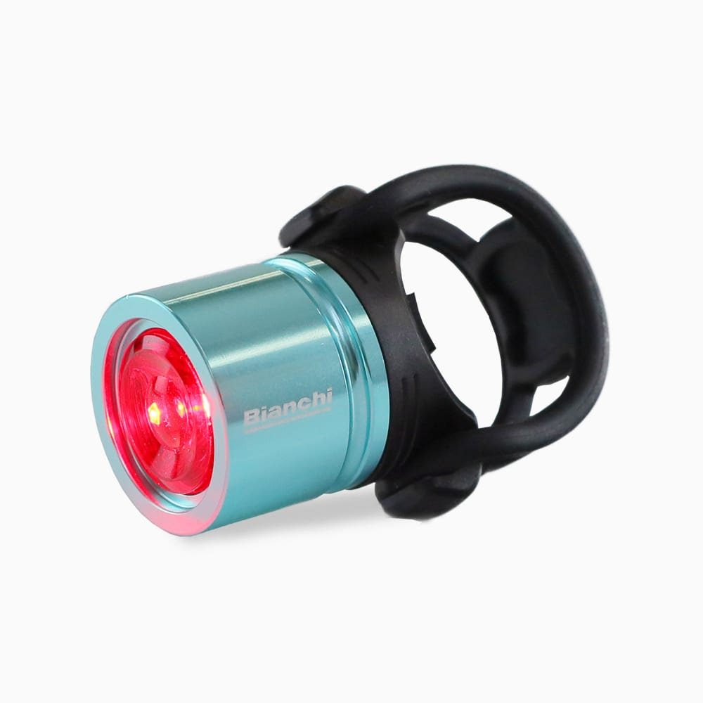 Bianchi Road Bike USB Aero Rear Light A Color Celeste 0608