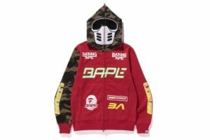 BMX MASK FULL ZIP HOODIE COLOR:RED MEN'S ¥35,800 +TAX.