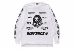 BMX JERSEY WIDE L/S TEE COLOR:WHITE MEN'S ¥13,000 +TAX.