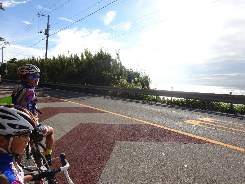 千葉房総300km、海を眺める藤本兄弟