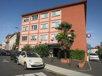 ▲アルビのホテル『インターホテル ル・カントゥポー』