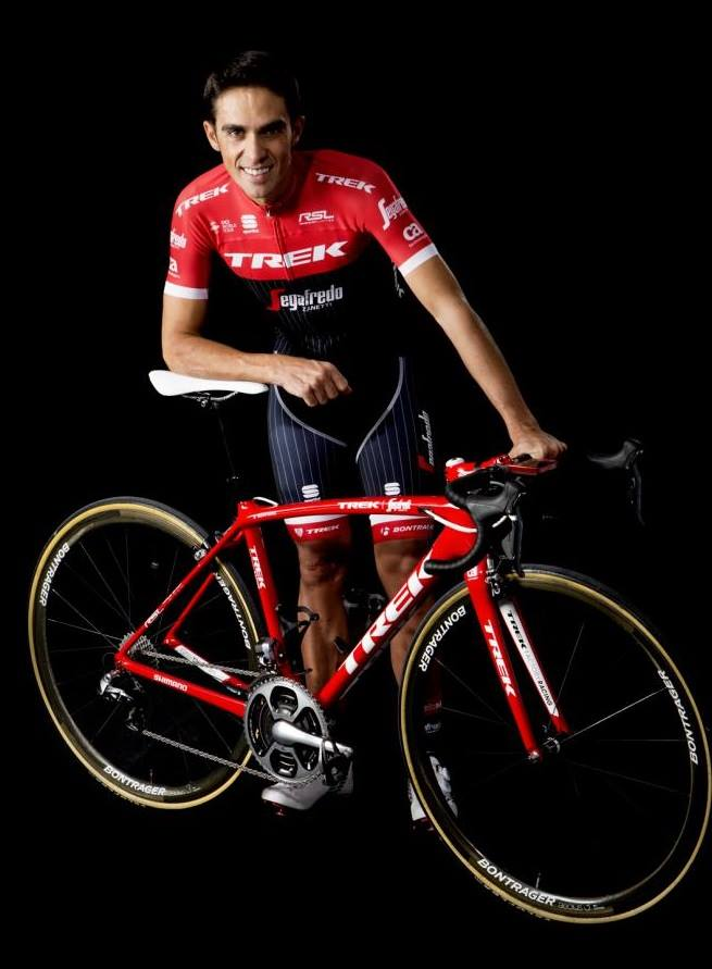 コンタドールが宇都宮にやってくる。ぜひ、最後の勇姿を目撃しよう! ©Trek Bicycle