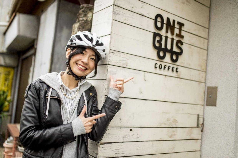 奥沢駅前のオニバスコーヒー