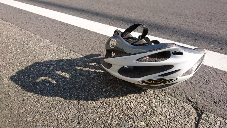もしもの時のためにヘルメットの着用は必須!