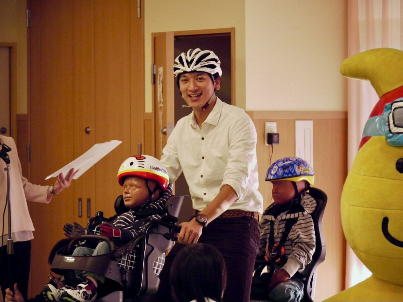 幼児用電動アシスト自転車を初体験したREN