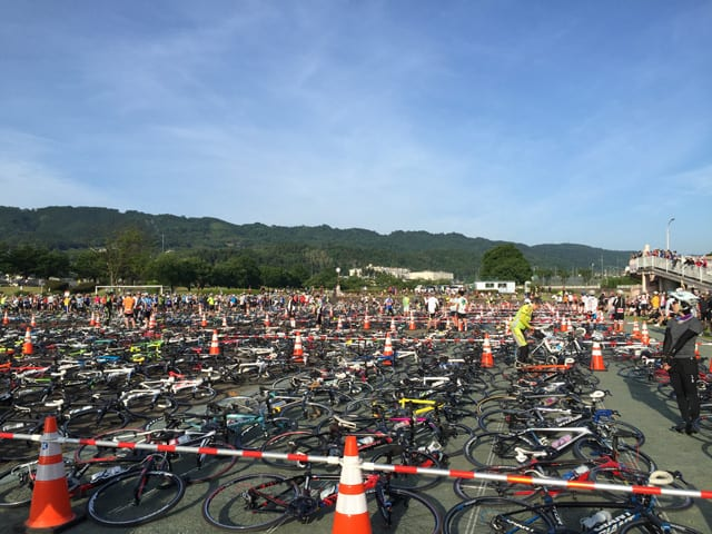 大勢の参加者で賑わうサイクルイベント