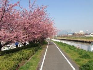 芝川サイクリングロード(埼玉県)