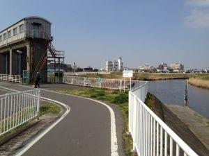 川口市の青木水門
