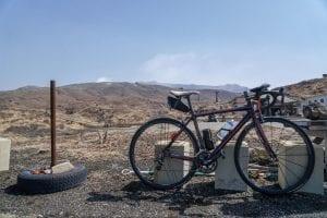 自転車で行ける最高標高点(標高1,142m)。