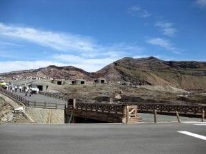 中岳山頂の様子。 撮影:コルナゴ部長