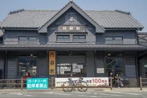 豊肥本線の熊本〜阿蘇間は地震の被害のため、現在も一部全線運行停止中。