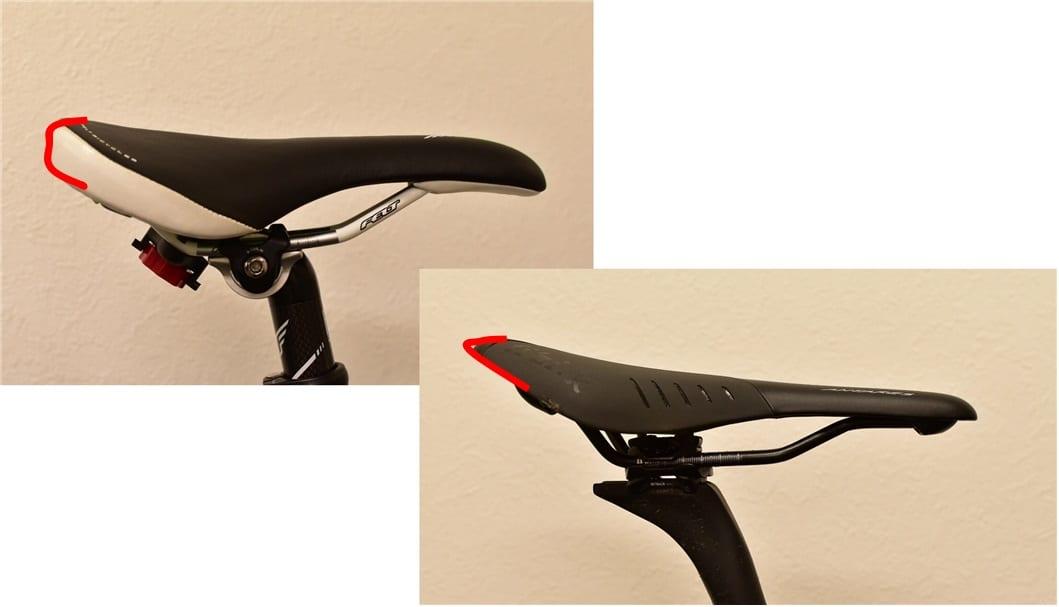ロードバイク サドル 厚み パッド 違い 比較