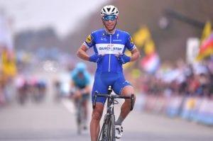 ロンド・ファン・フラーンデレンにおいて、後続集団をしっかりと抑え、テルプストラの勝利を演出したフィリップ・ジルベール(ベルギー、クイックステップフロアーズ) (C) Quick-Step Floors Cycling Team / Getty Sport
