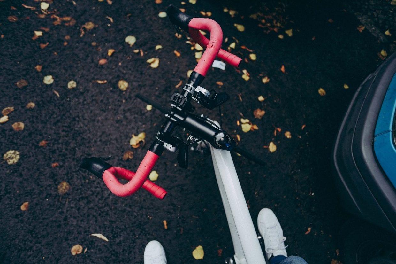 ロードバイク ハンドル イメージ