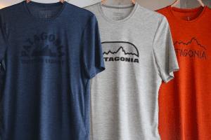 パタゴニアのキャプリーンTシャツ