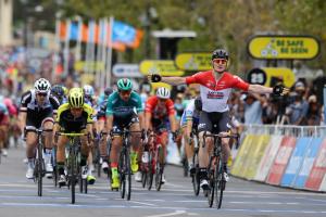 サントス・ツアー・ダウンアンダーでステージ通算18勝したアンドレ・グライペル
