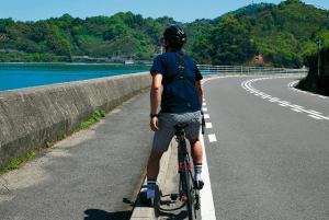夏場はカジュアルに短パンで走る、ジーパンサイクリストです