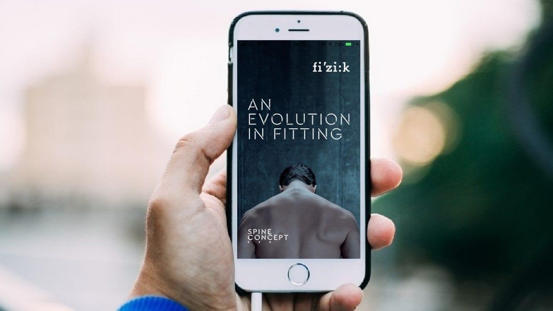 fizik スパインコンセプト spine concept アプリ