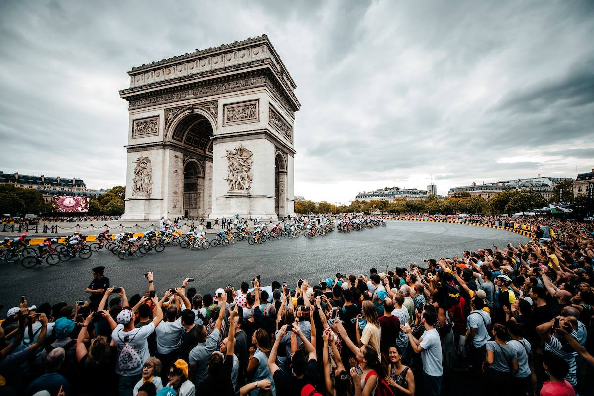 2018 ツールドフランス 凱旋門