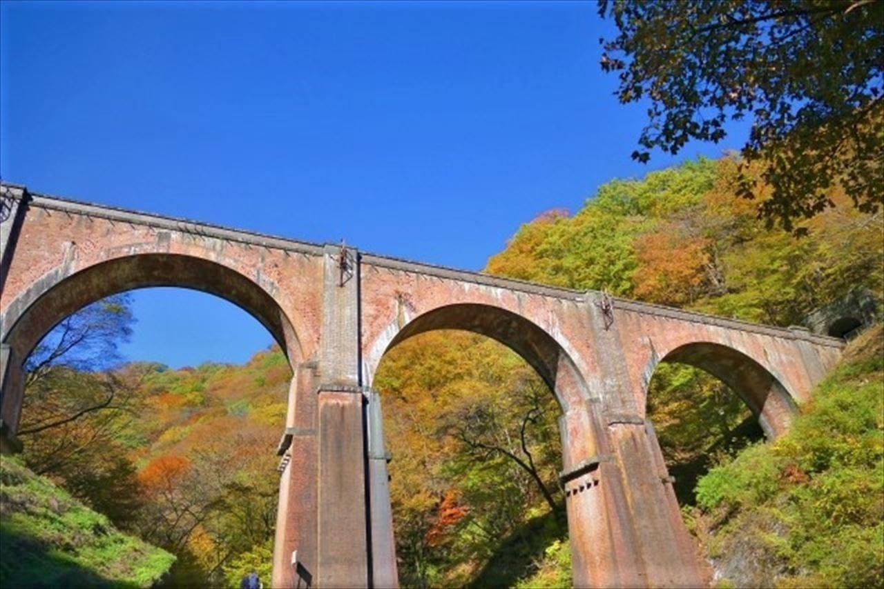 秋のめがね橋