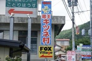 遠刈田温泉からは、もふもふのキツネがいっぱいいることで有名な「蔵王キツネ村」へもアクセスできる。
