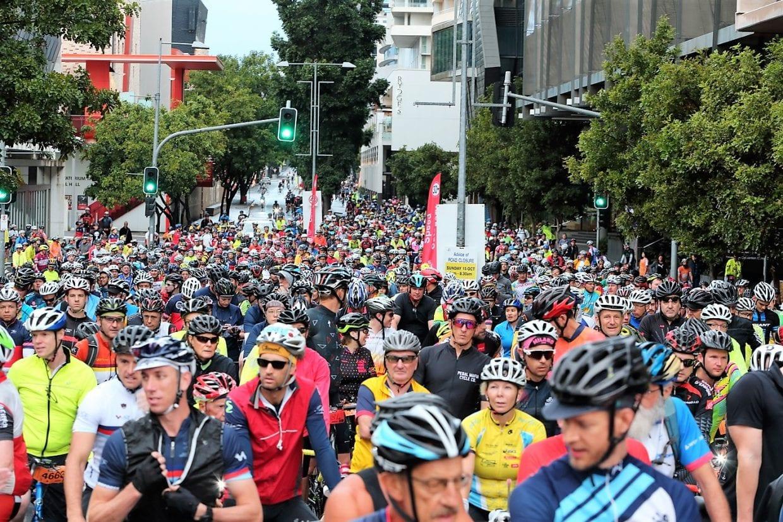 スタート地点のブリスベン。B2GCは例年6000人もの参加者が集まる人気イベント。