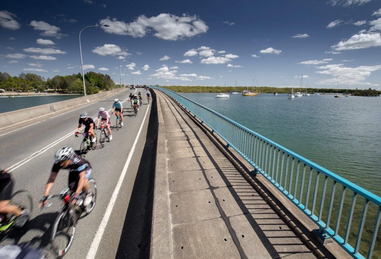 終盤は美しい海岸線を望みながらのサイクリング、ゴールドコーストまであと少し!