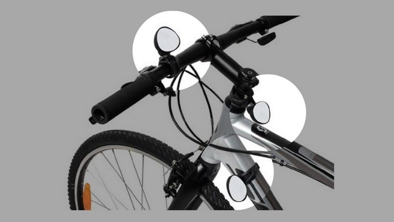 自転車 ミラー ロードバイク クロスバイク バックミラー