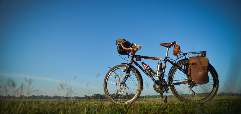 ランドナー 旅 自転車 ロードバイク 旅行 ツーリング
