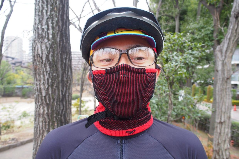 スポーツマスクを体感